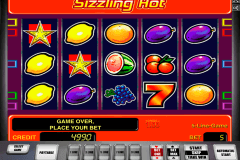 sizzling hot novomatic slot